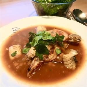 魚のボーンブロス(骨スープ) アラと野菜ジュースで作るブイヤベース