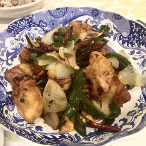 糖質オフ 1人分糖質10g以下 四川風唐辛子と唐揚げ炒め辣小鶏