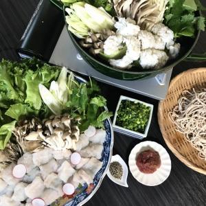 旬の食材を食べよう お家で料亭の味すっきり薬味で味わうはも鍋