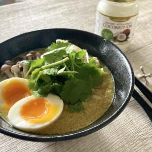 糖質オフ 糖質0g麺を使ってココナッツ香るシンガポール料理ラクサ