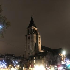【クリスマスマルシェ】サンジェルマンデプレ教会。