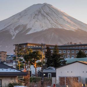 「東横イン富士河口湖大橋」富士山の絶景を望む河口湖に激近なホテル