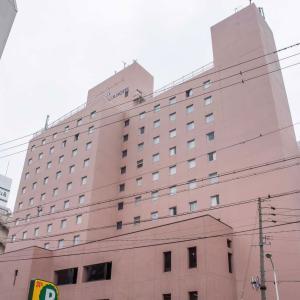 「アルピコプラザホテル」松本駅の目の前、朝食バイキングが美味しいハイクオリティホテル