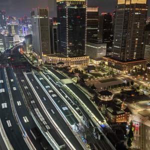 「ホテルメトロポリタン丸の内」駅直結、東京駅を見下ろす贅沢な夜景