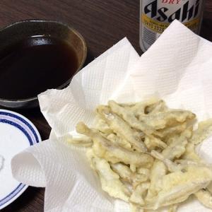 やっぱり天ぷらだよね。
