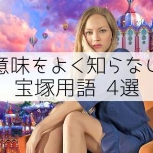 【これってどういう意味?】意味をよく知らない宝塚用語4選