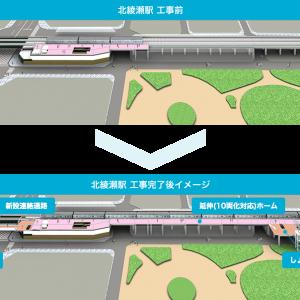 北綾瀬駅の改装工事と不動産価格