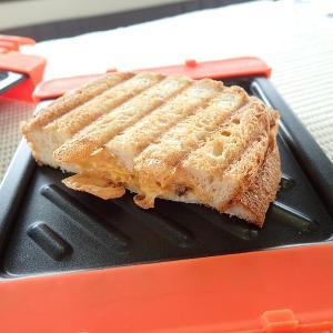 レンジ機能だけで簡単にホットサンド・トースト(食パン)を焼く技があった!!【Bake it! ベイクイット】【料理 レビュー レシピ キャンピングカー 電子レンジ】