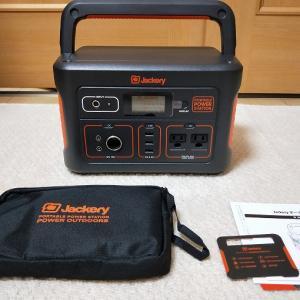 大容量ポータブル電源からキャンピングカーに充電してみた【jackery 700】【レビューその2】