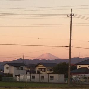 藤枝からの富士山