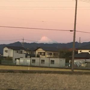 おっさんの独り晩飯と富士山