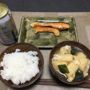おっさんの独り晩飯