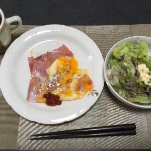 おっさんの独り朝飯