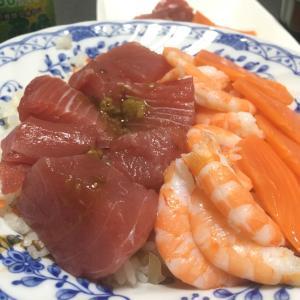 おっさんの独り晩飯 海鮮ちらし寿司