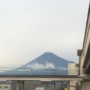 仕事帰りの富士山