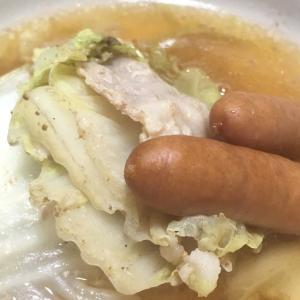 おっさんの独り晩飯 白菜のミルフィーユ鍋と岐阜県について