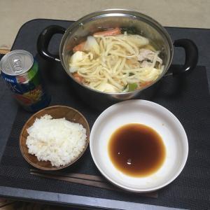おっさんの独り晩飯  またまた鍋!