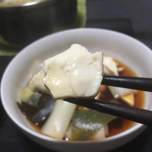 おっさんの独り晩飯 湯豆腐
