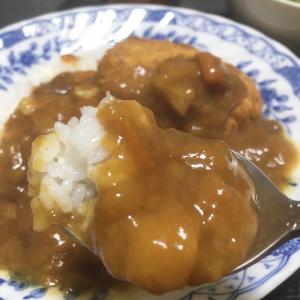 今日は元女房殿の誕生日!とおっさんの独り晩飯 カレーライスと三田村ロス
