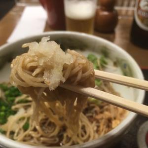 【静岡葵タワー地下】岩久本店 おろし蕎麦と瓶ビール