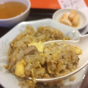 【三島市白滝公園交差点近く】中華飯店のあき芝町店 炒飯とビール