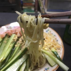 おっさんの独り晩飯 冷やしラーメン(東洋水産) 2年ぶりの冷やしラーメン
