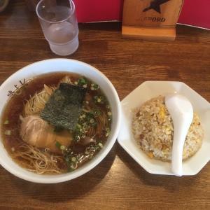 【駿河区登呂】中華・麺や あじよし 半チャンラーメン900円