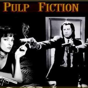 映画「パルプフィクション」饒舌なアクション映画。