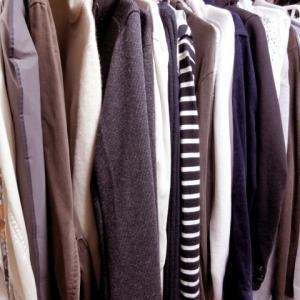 衣替えで初めて持ってる服の数を数えてみたら…