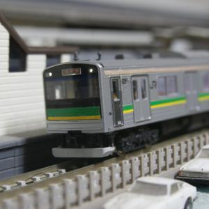 【模型紹介】008 南武支線205系1000番台 ~自作するしかなかった205系~