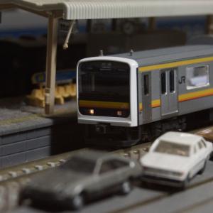 【模型紹介】015 南武線209系0番台「ナハ1編成」 ~初めてのTOMIX製通勤電車~