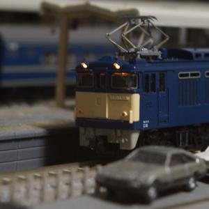 【模型紹介】019 EF64-55号機  ~旧仕様の動態保存機~