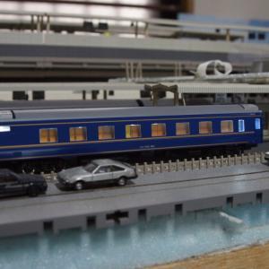 【入線整備】北斗星・東日本Bセット2「オロハネ24-550・オロネ24-500」~1台の予備車~