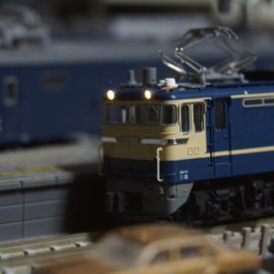 【入線整備】EF65-540号機+ク5000~1980年代に走っていた「ニッサン号」~