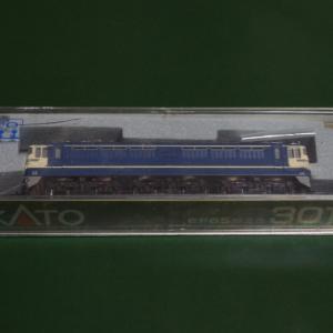 【入線整備】KATO製旧製品の「EF65-500」~心臓破りの「別手すり」取り付け~