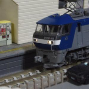 【入線整備】EF210-105号機~JRFマークが無い桃太郎~