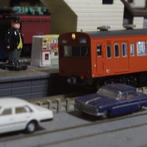 【模型紹介】053 中央線103系低運・冷房改造車 ~オレンジ103系の増殖~