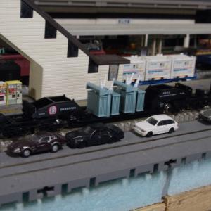 【模型紹介】061 シキ1000「変圧器輸送」~特大貨物と呼ばれる特殊輸送貨物~