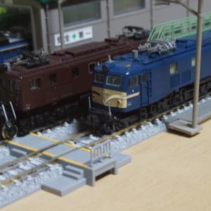 【入線整備】EF58 147号機「KATO京都店特製品」~まさかの竜華機関区仕様~
