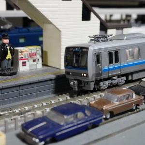 【模型紹介】103 京阪神慣行線207系0番台旧塗装~電車でGO!で気にいっていた車両~