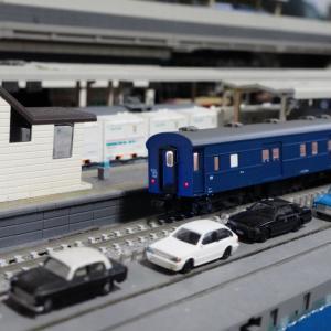【入線整備】10系客車「きたぐに」マニ37編~そして出場へ~