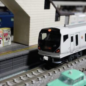 【入線整備】E257系0番台「あずさ」前編~ライトの調整でどつぼにハマルorz~