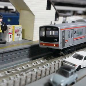 【模型紹介】123「武蔵野線」205系0番(メルヘン)~スカートはいてない205系~