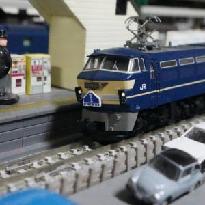 【模型紹介】105 24系25形寝台特急「富士」06~EF66検査と出場~