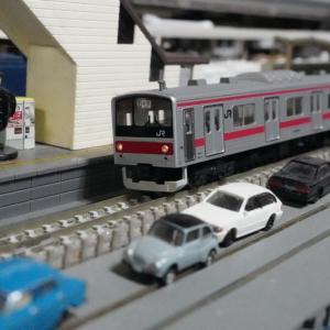 【入線整備】京葉線205系(大窓・ケヨ21編成)01~少し変な、205系セット~