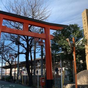 東伏見稲荷神社⛩      不思議写真連発!!の開運神社॰˳ཻ̊♡