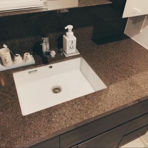 【マンションオプション】やってよかった有償の内装!洗面化粧台をフィオレストーンへ変更