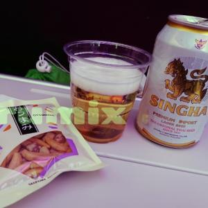 タイ国際航空機内食レポート【名古屋→タイ編】