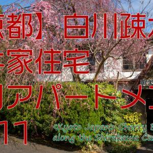 【京都の動画】YouTubeへ動画を貼りました。今回は2011年の駒井家住宅と銀月アパートメントです。