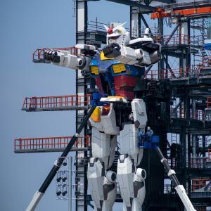 〈GUNDAM FACTORY YOKOHAMA〉のガンダム、撮ってみた。